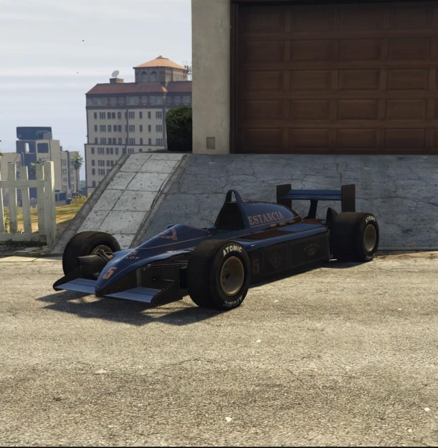 Custom R88 (Formula 1 Car) by Alecstilleyedye