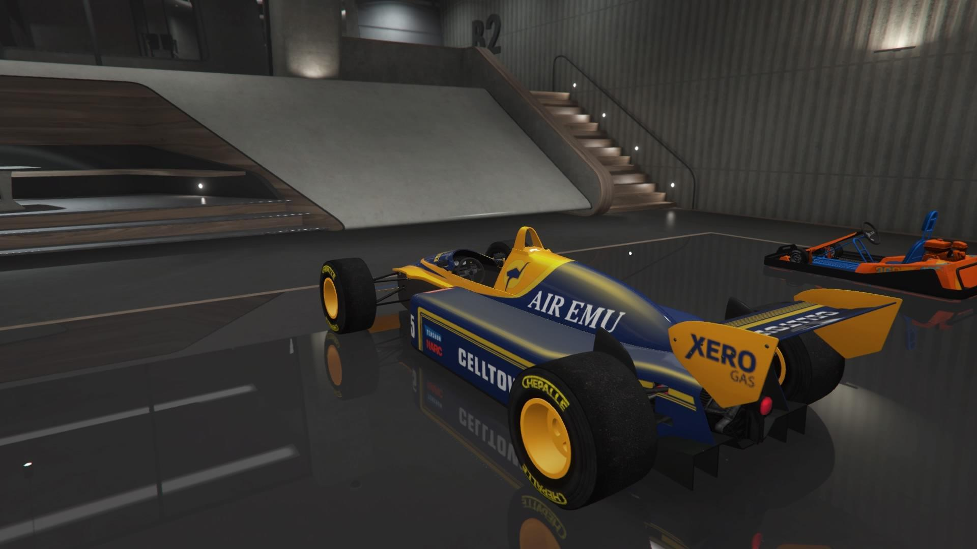 R88 (Formula 1 Car) (Fully Upgraded)