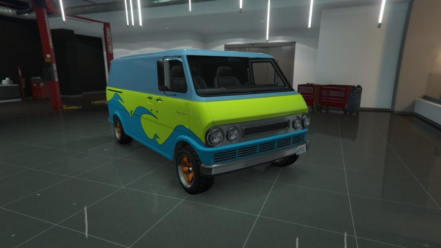 Youga Classic - The Mystery Machine from Scooby Doo