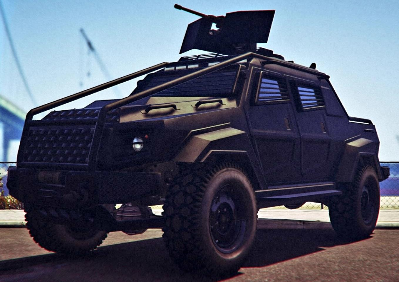 Insurgent Pick-up Custom