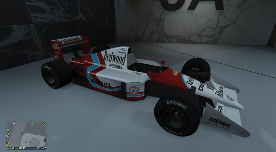 PR4 (Formula 1 Car) - McLaren MP4/5 Variant