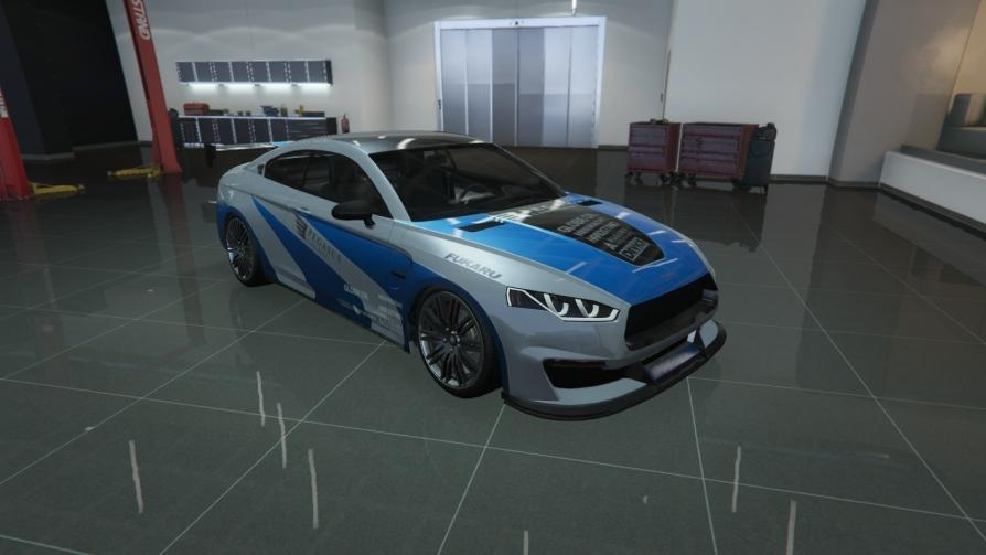 8F Drafter - BMW M3 GTR from Need for Speed: Most Wanted (2005)