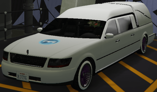 Romero Hearse (Fully Upgraded)