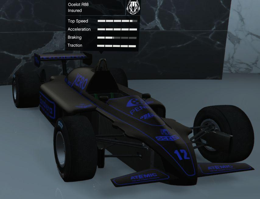Custom R88 (Formula 1 Car) by Shryke