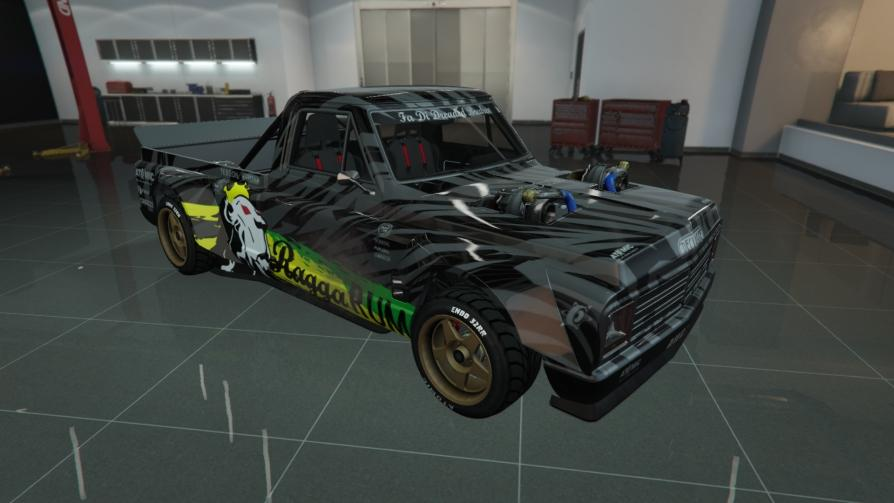 Drift Yosemite - 1977 Ford F-150 Hoonitruck by Ken Block