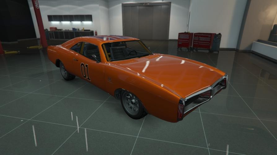 Dukes - 1969 Dodge Charger from The Dukes of Hazard