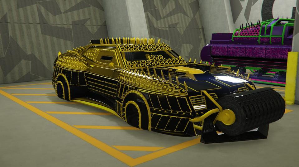 Custom Future Shock Imperator by TiredGamer7
