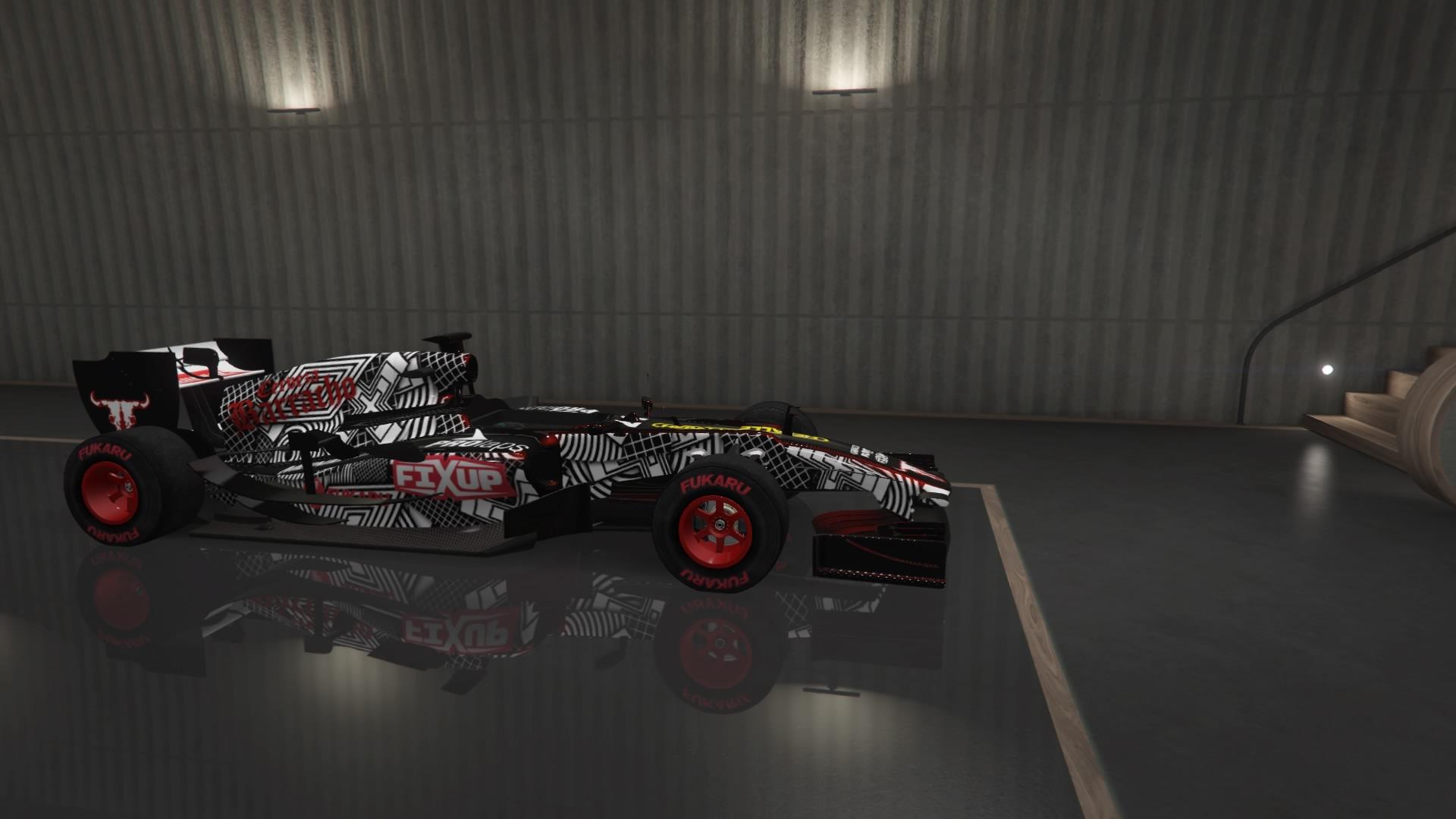 BR8 (Formula 1 Car) (Fully Upgraded)