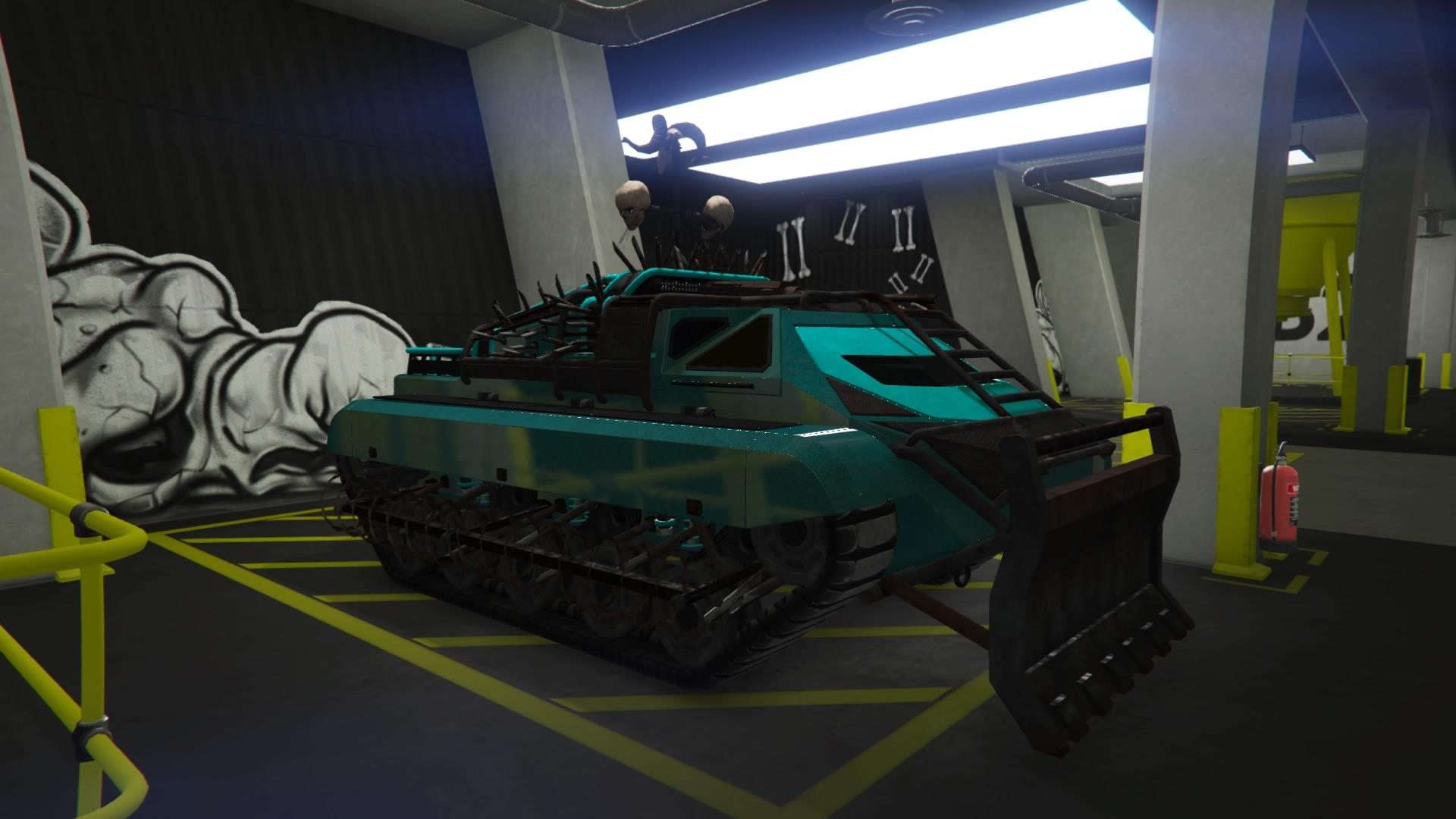 Apocalypse Scarab - mini tank (Fully Upgraded)