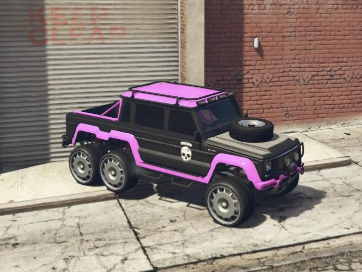 Custom Dubsta 6x6 by Suth1987
