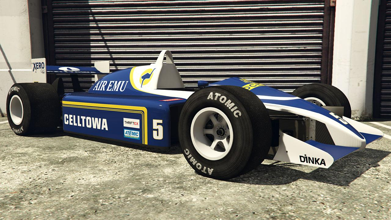 Custom R88 (Formula 1 Car) by Carrythxd