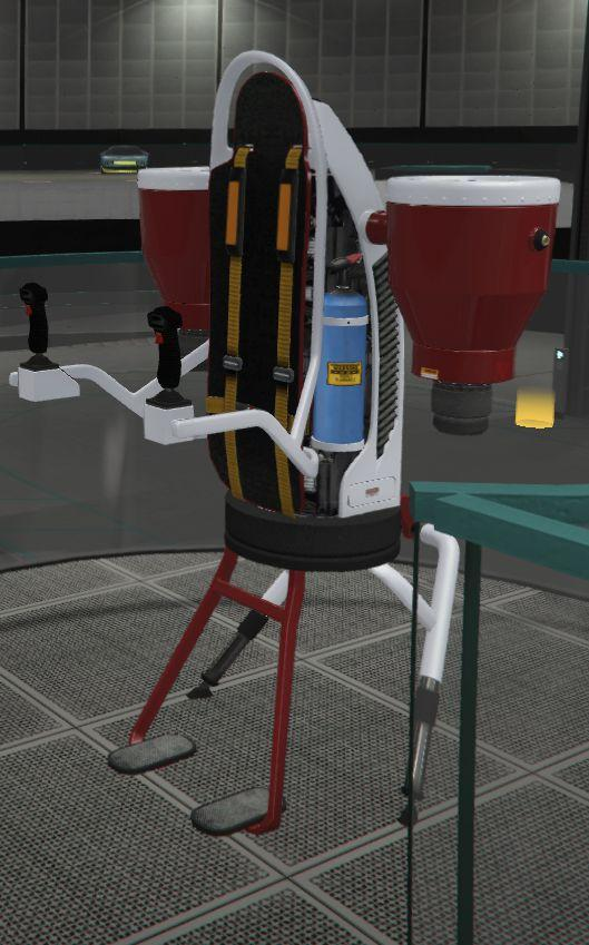 Custom Thruster Jetpack by Shryke