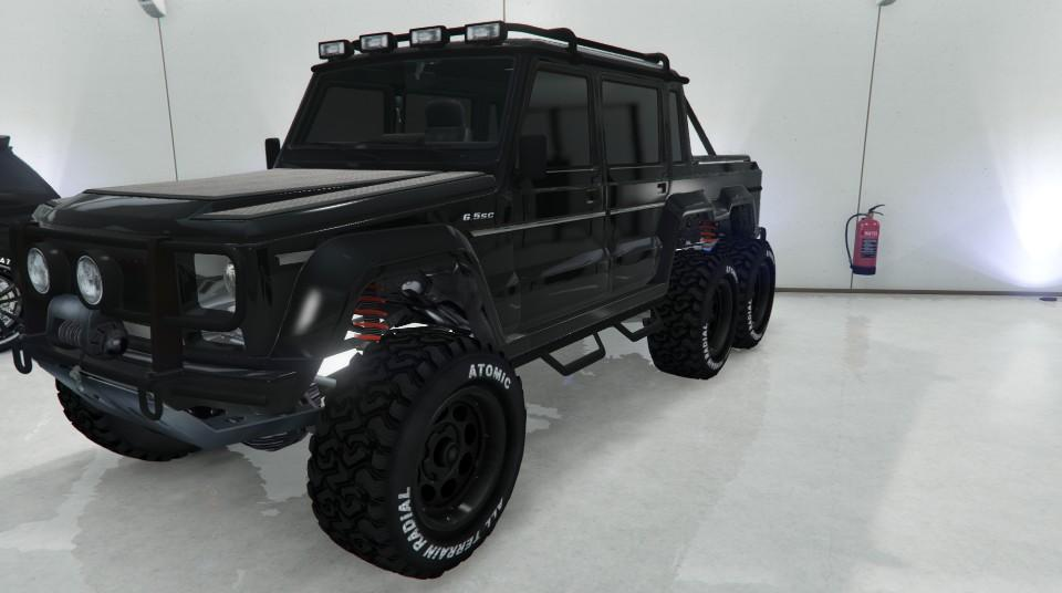 Custom Dubsta 6x6 by mo-tella