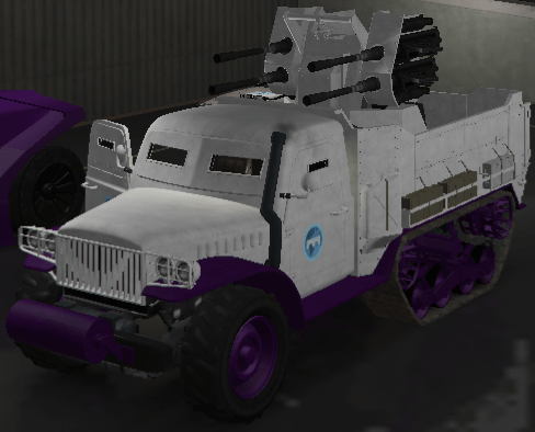 Half-track (Fully Upgraded)