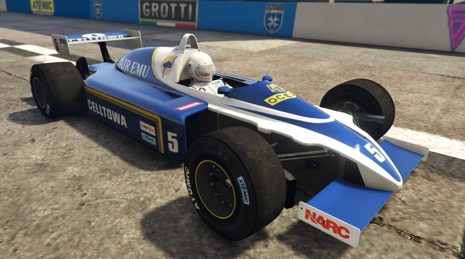 Custom R88 (Formula 1 Car) by MysticZombie