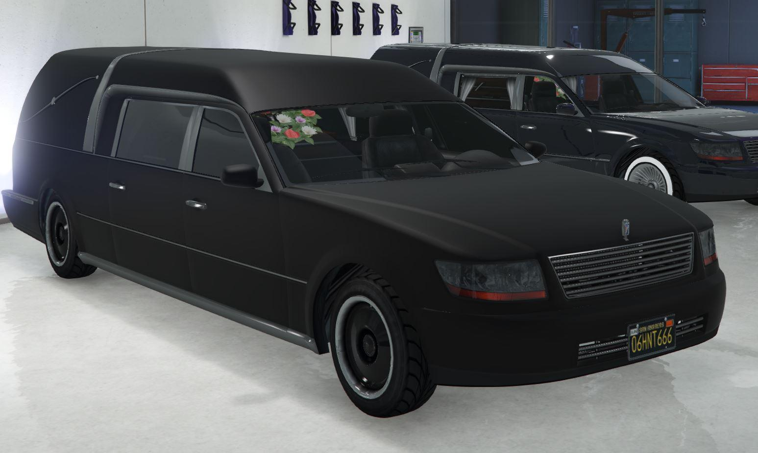 Custom Romero Hearse by Ghostdudes