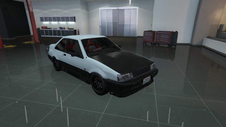 Futo - AE86 from Initial D