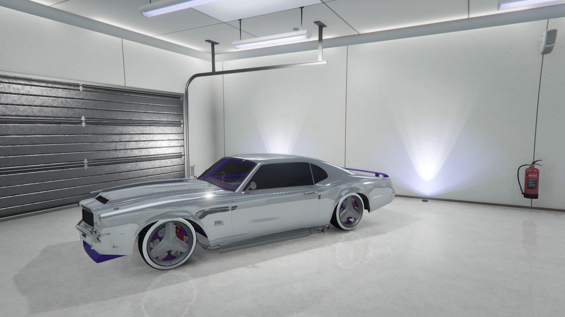 Sabre Turbo Custom - Chrome Purple (Fully Upgraded)