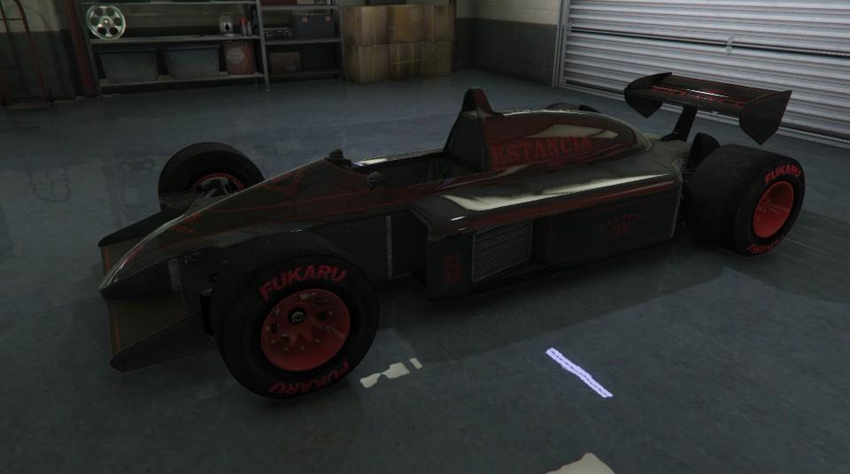 Custom R88 (Formula 1 Car) by TiredGamer7