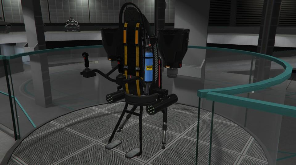 Custom Thruster Jetpack by Ultra Krysis