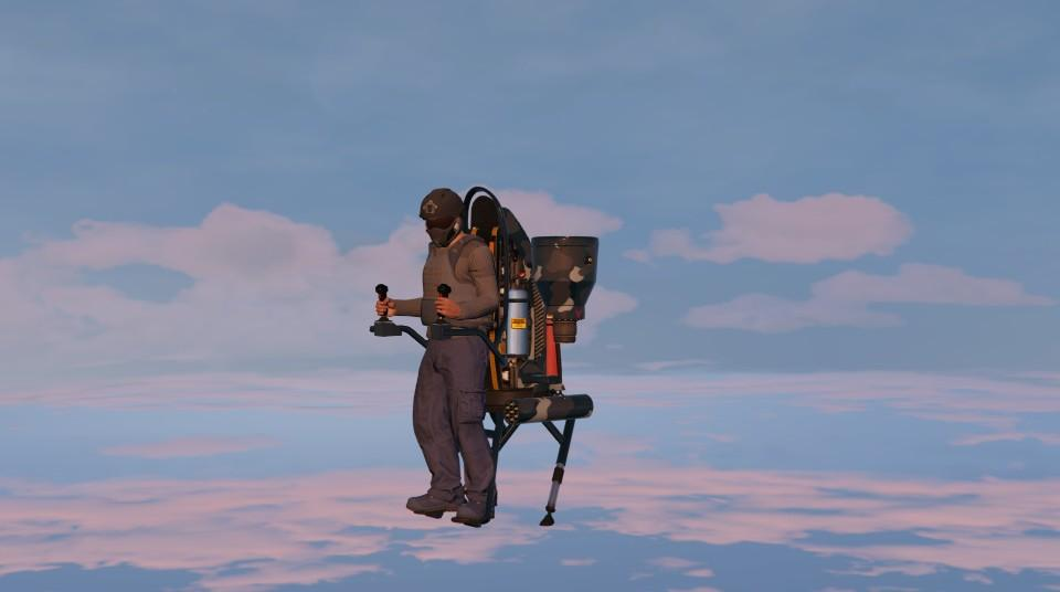 Custom Thruster Jetpack by Jamezjigga