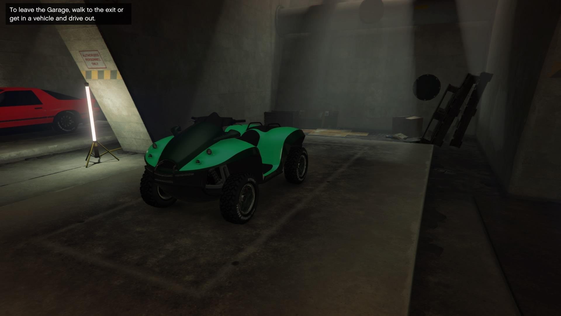 Blazer Aqua (Fully Upgraded)