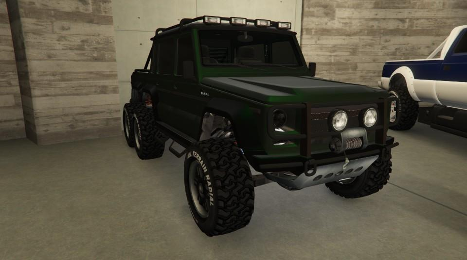 Custom Dubsta 6x6 by Chazzitup666