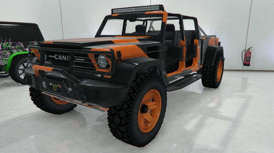 Custom Kamacho by TiredGamer7