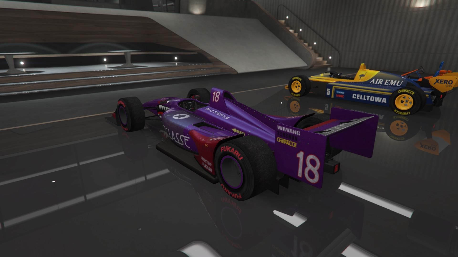 DR1 (IndyCar) (Fully Upgraded)