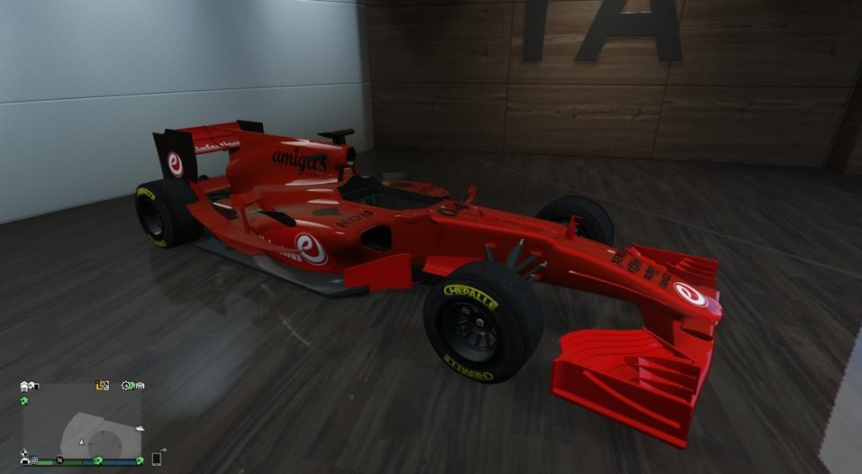 BR8 (Formula 1 Car) - Scuderia Ferrari Colors