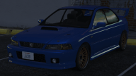 Sultan Classic - Subaru Impreza 22B build